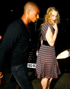 Brahim Zaibat en Madonna (parlourmagazine.com)
